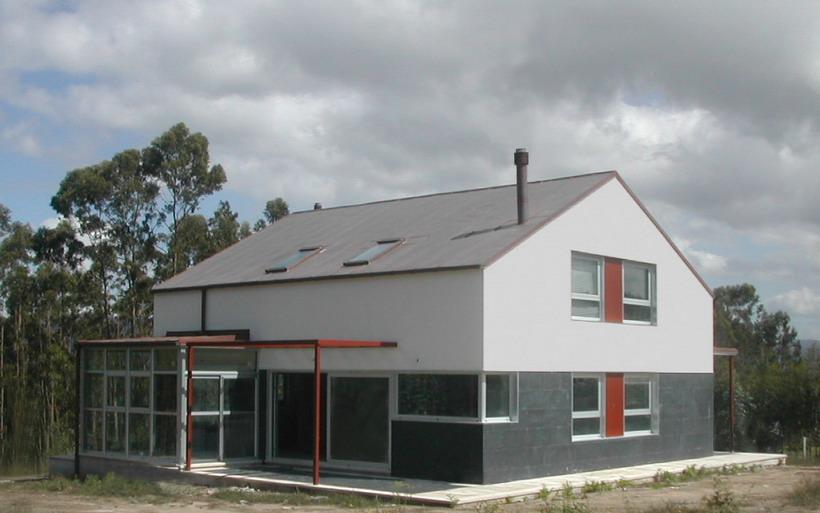 Vivienda en mourente pontevedra 2c arquitectos estudio - Arquitectos en pontevedra ...