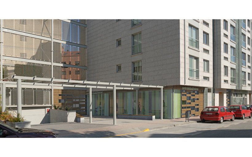 Centro de d a para enfermos de alzheimer en pontevedra - Arquitectos en pontevedra ...