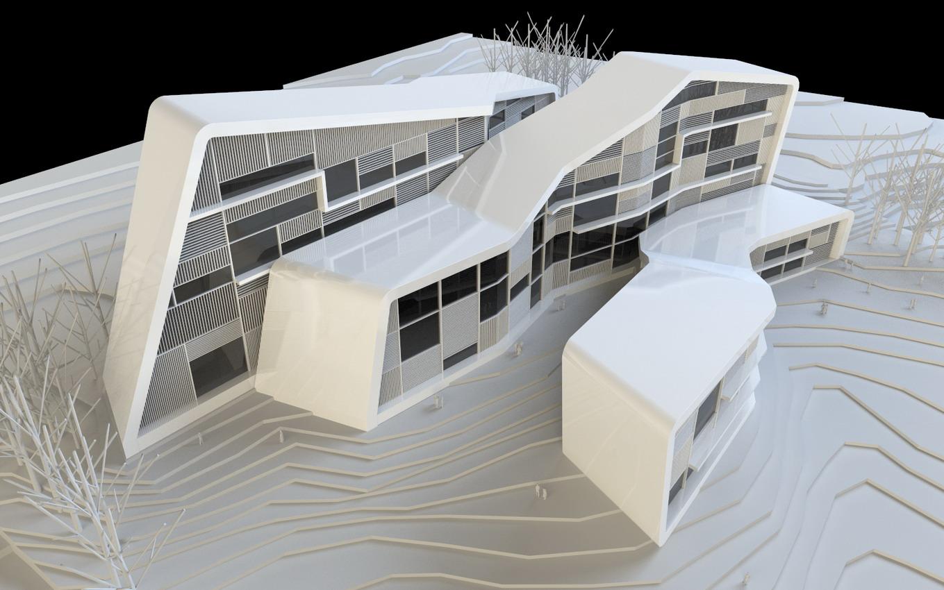 Centro de supercomputaci n de galicia en santiago de compostela 2c arquitectos estudio de - Arquitectos santiago de compostela ...