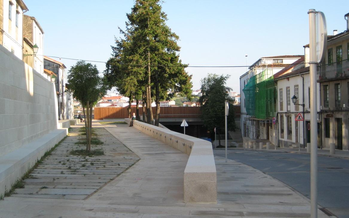 Reurbanizaci n de la r a de sar en santiago 2c arquitectos estudio de arquitectura en - Arquitectos santiago de compostela ...