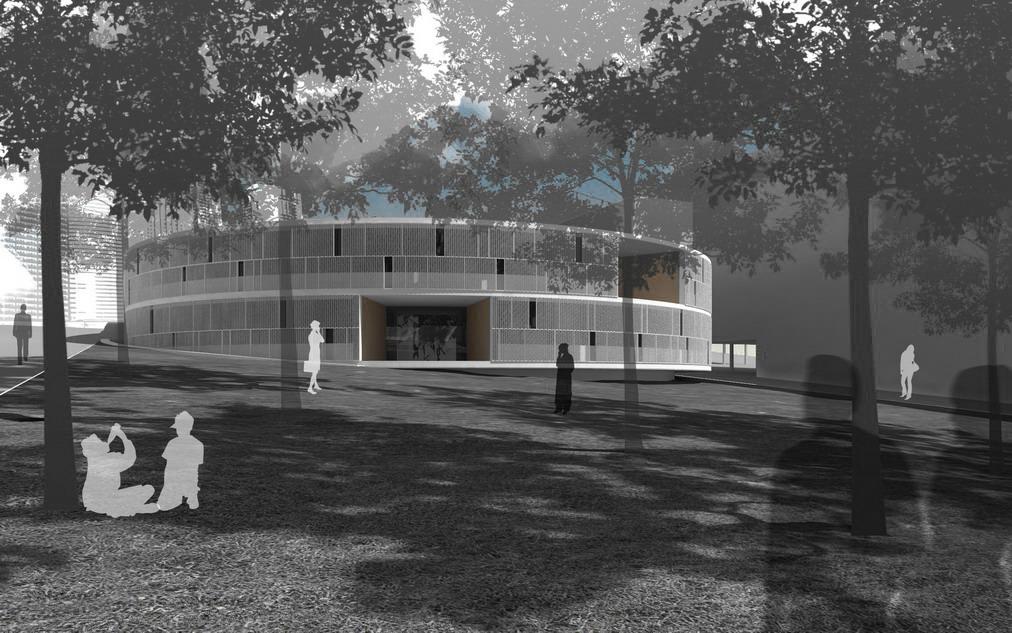 centro de salud en milladoiro ames 2c arquitectos