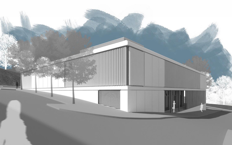 Centro de menores y pef en fonti as 2c arquitectos estudio de arquitectura en santiago de - Arquitectos santiago de compostela ...