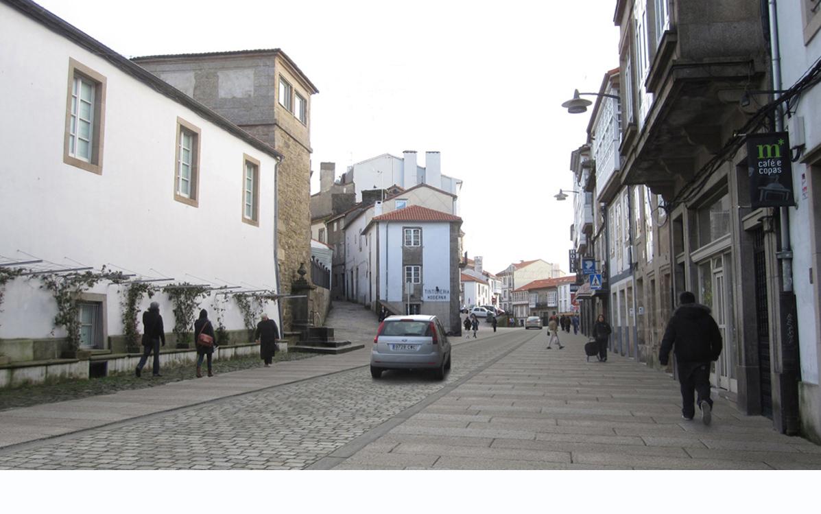 Congreso a cidade intuida en santiago de compostela a coru a 2c arquitectos estudio de - Arquitectos santiago de compostela ...