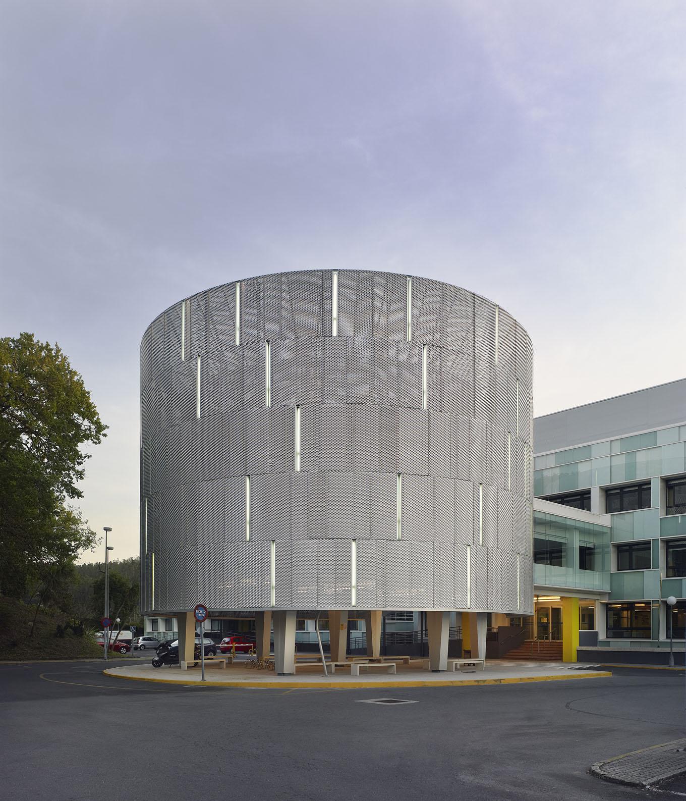 Fachadas del hospital de conxo en santiago 2c - Arquitectos en santiago de compostela ...