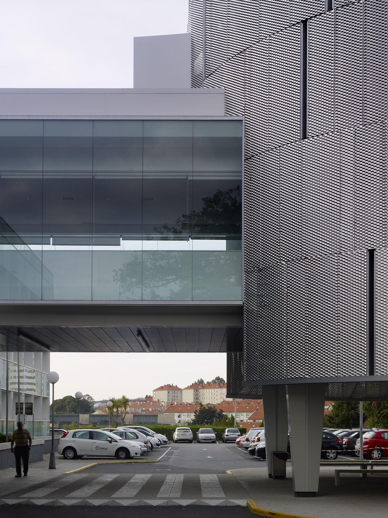 Fachadas del hospital de conxo en santiago 2c arquitectos estudio de arquitectura en santiago - Arquitectos en santiago de compostela ...