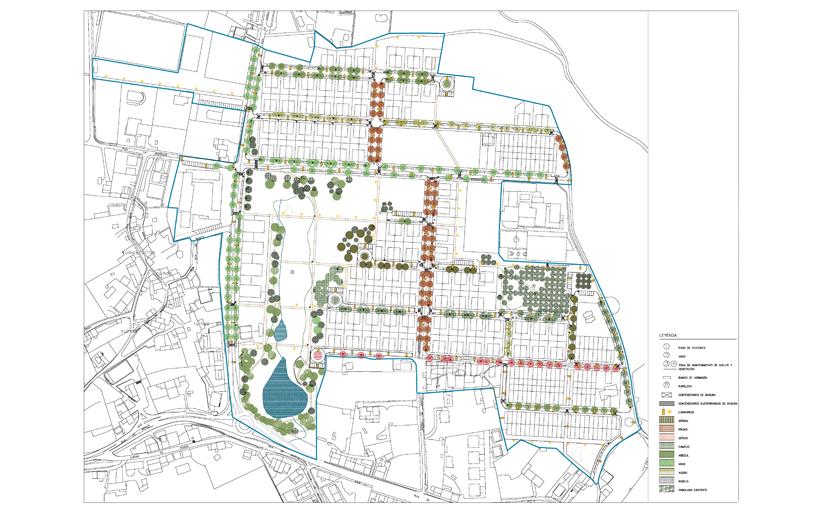 Pol gono residencial sunp 25 en roxos santiago 2c - Arquitectos en santiago de compostela ...