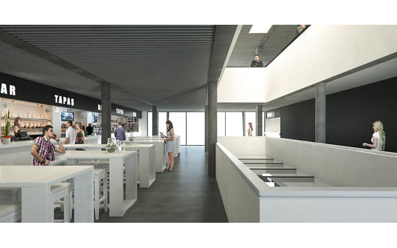 Nuevo mercado municipal de riveira 2c arquitectos - Arquitectos en santiago de compostela ...