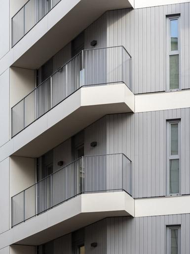 Edificio de viviendas en Pontevedra / Foto: Héctor Santos-Díez